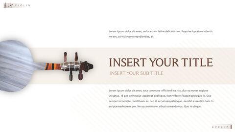 바이올린과 첼로 프레젠테이션 PowerPoint 템플릿 디자인_33