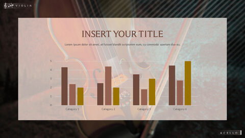 바이올린과 첼로 프레젠테이션 PowerPoint 템플릿 디자인_37