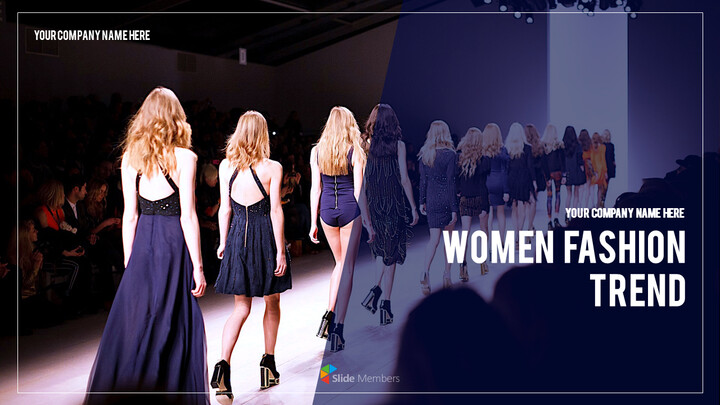 Women Fashion Trend PowerPoint Templates for Presentation_01