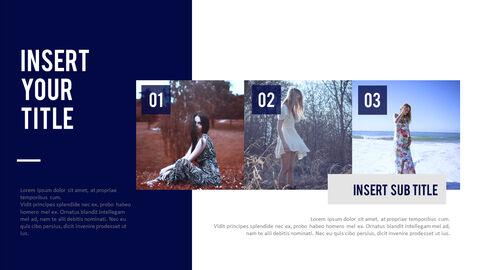 여성 패션 트렌드 프레젠테이션용 PowerPoint 템플릿_16