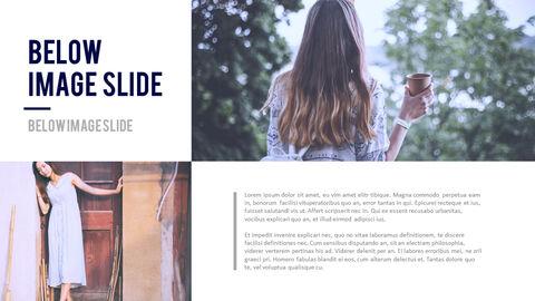 여성 패션 트렌드 프레젠테이션용 PowerPoint 템플릿_22