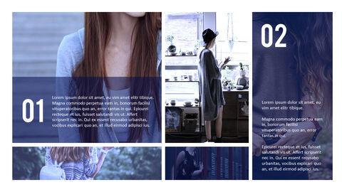 여성 패션 트렌드 프레젠테이션용 PowerPoint 템플릿_30