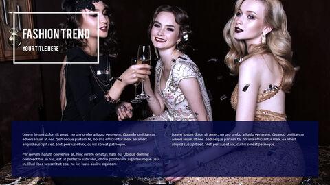 여성 패션 트렌드 프레젠테이션용 PowerPoint 템플릿_31