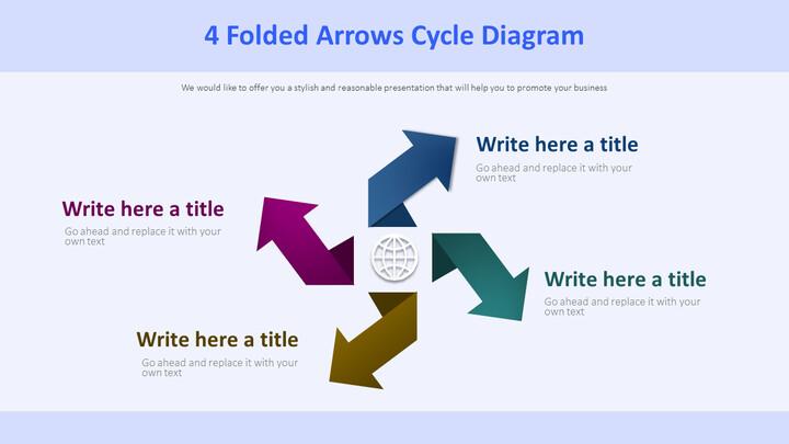 4 접힌 화살표 사이클 다이어그램_02