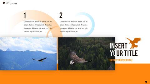 鷲 PowerPointプレゼンテーションのテンプレート_16