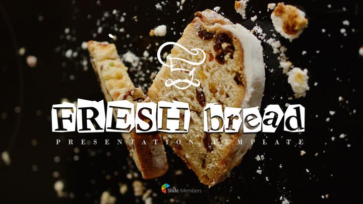 프랑스 빵 편집이 쉬운 PPT 템플릿_01