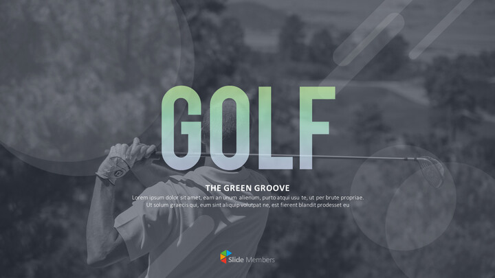 Golf The Green Groove Templates Design_01