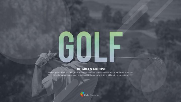 그린 그루브 골프 템플릿 디자인_01