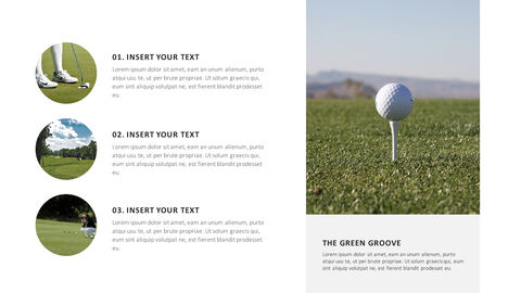Golf The Green Groove Templates Design_03