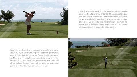 그린 그루브 골프 템플릿 디자인_33