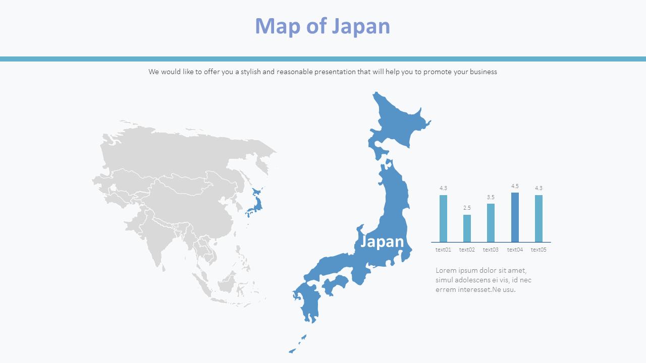 Cartina Del Giappone Politica.Mappa Del Giappone Diagramma