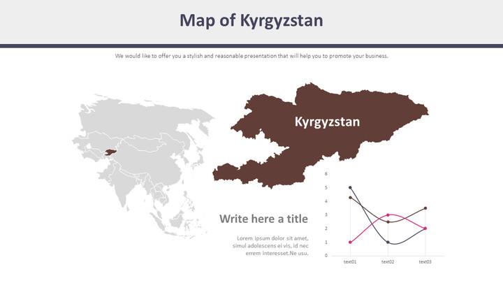 키르기스스탄 지도 다이어그램_01