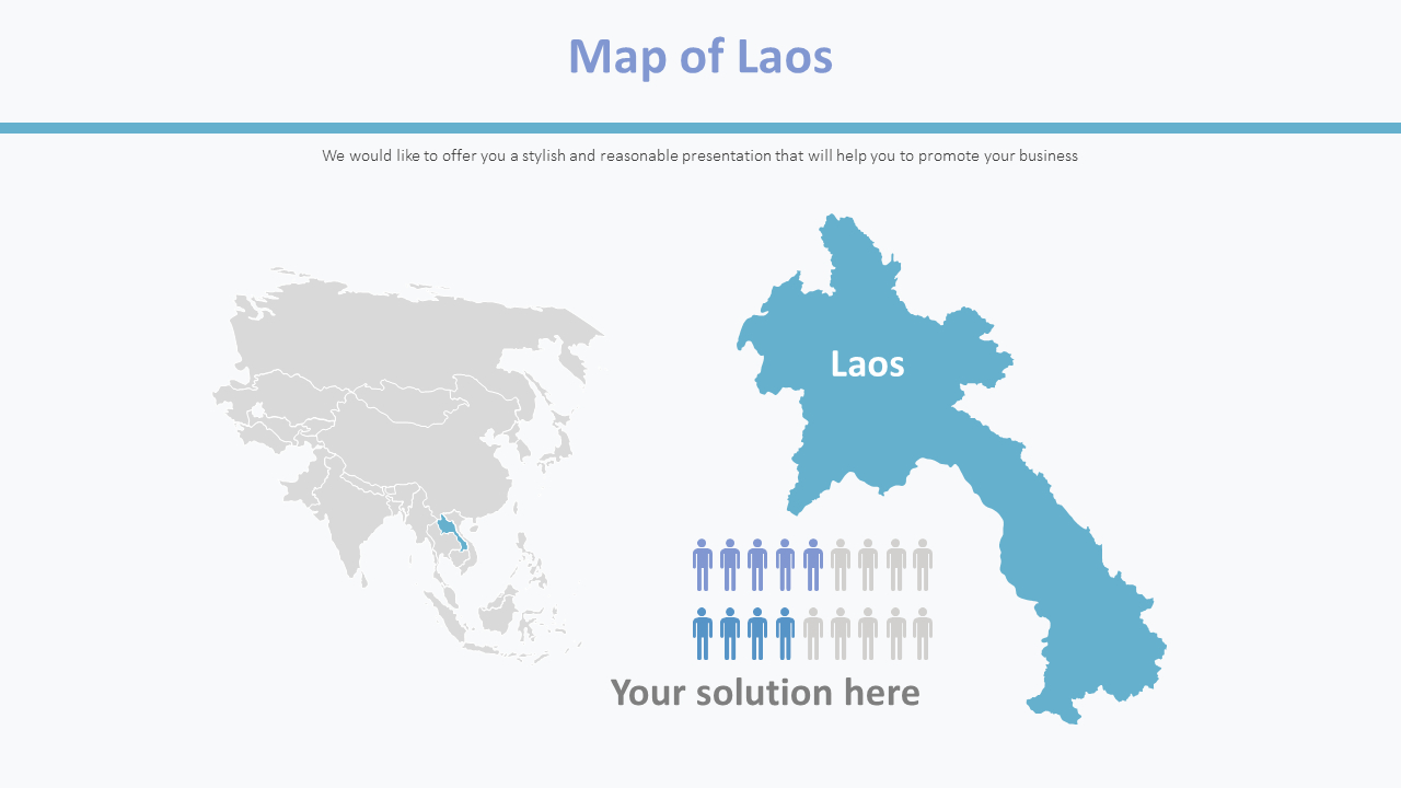 Picture of: Map Of Laos Diagram