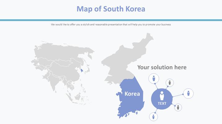 Map of South Korea Diagram_01