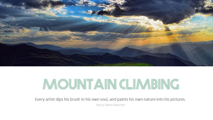 Mountaineering Simple Templates Design_02