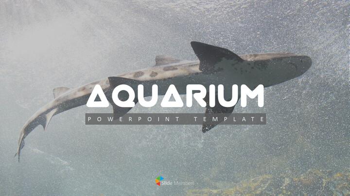 Aquarium Simple PowerPoint Template Design_01