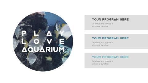 Aquarium Simple PowerPoint Template Design_05