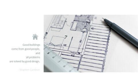건축 설계 편집이 쉬운 프레젠테이션 템플릿_09