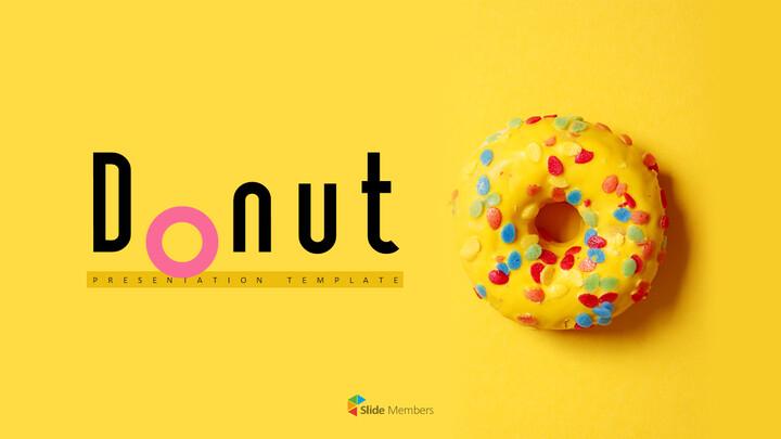 도넛 PPT 프레젠테이션_01