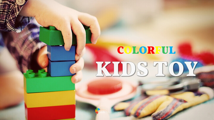 Kids toy Easy Presentation Template_01