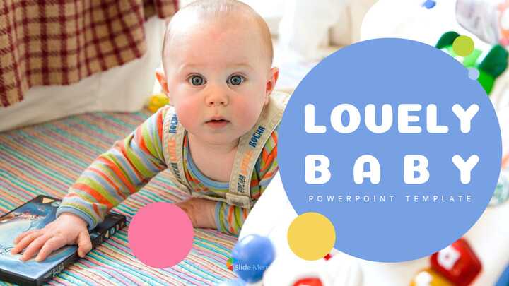 Lovely Baby Easy Presentation Template_01