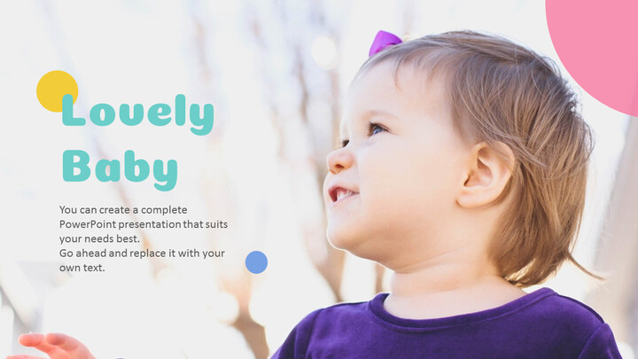 Lovely Baby Easy Presentation Template_02