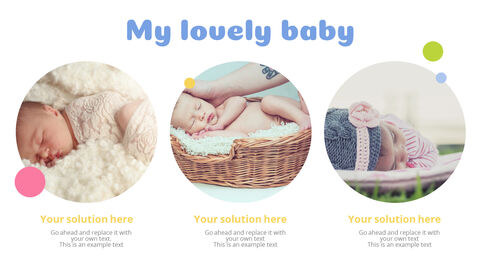 Lovely Baby Easy Presentation Template_04