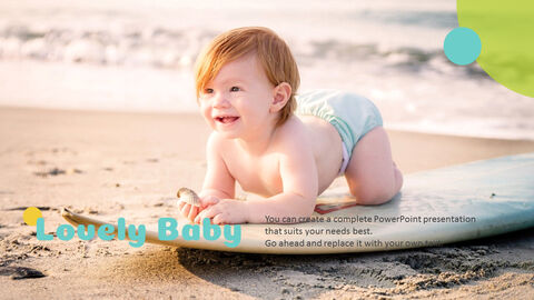 Lovely Baby Easy Presentation Template_05