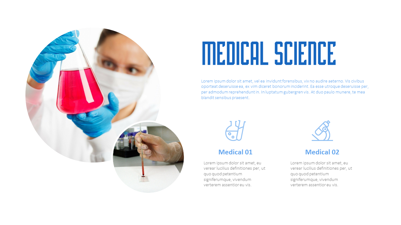 Free Powerpoint Templates Medical Science