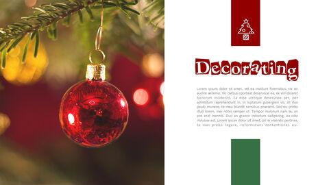 메리 크리스마스 편집이 쉬운 프레젠테이션 템플릿_05