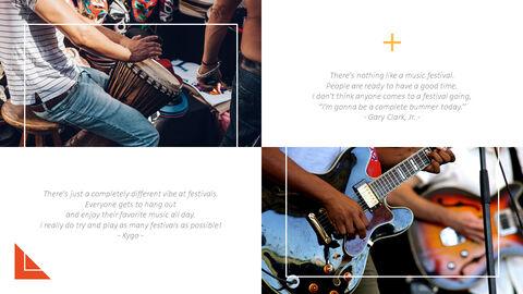 음악 축제 편집이 쉬운 프레젠테이션 템플릿_05