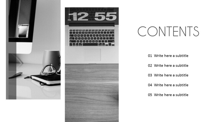 Office Desk Simple Templates_02