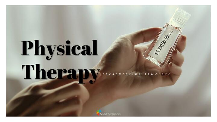물리 치료 편집이 쉬운 프레젠테이션 템플릿_01