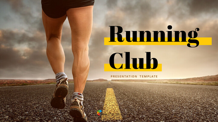 Running Club Easy PPT Template_01