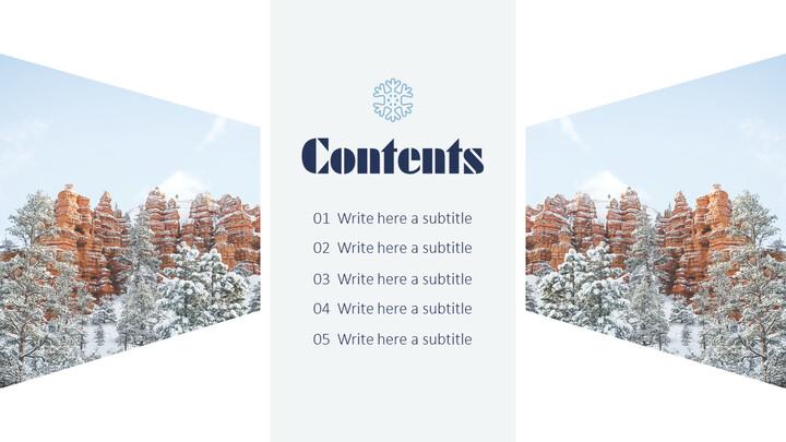 겨울 여행 심플한 템플릿_02