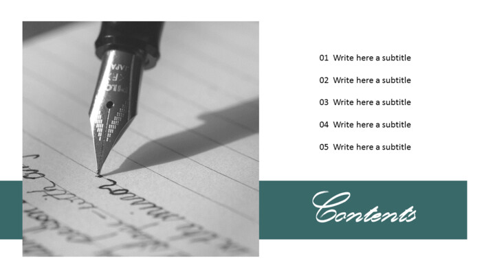 Writing Note Simple Templates_02
