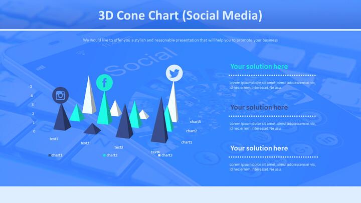 3D 콘 차트 (소셜 미디어)_01