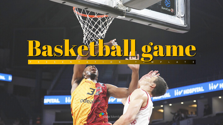 농구 게임 PPT 프레젠테이션_01