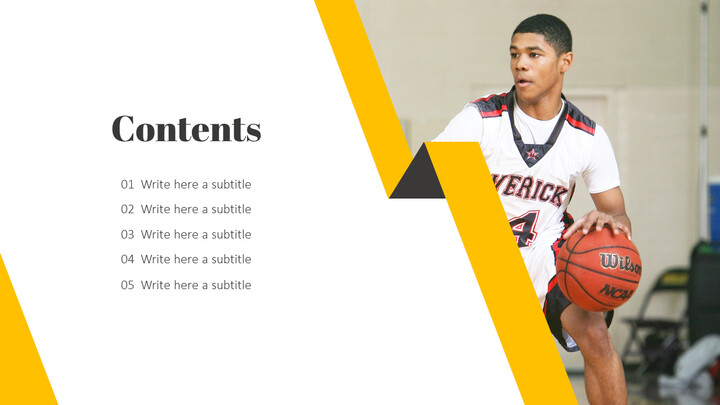Basketball Game PPT Presentation_02