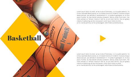 Basketball Game PPT Presentation_04