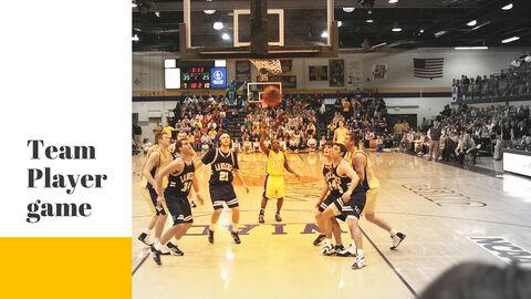 Basketball Game PPT Presentation_05