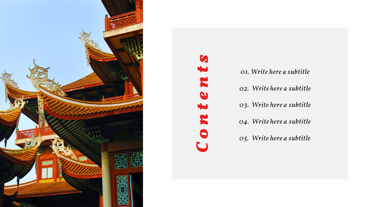 중국 심플한 템플릿 디자인_02