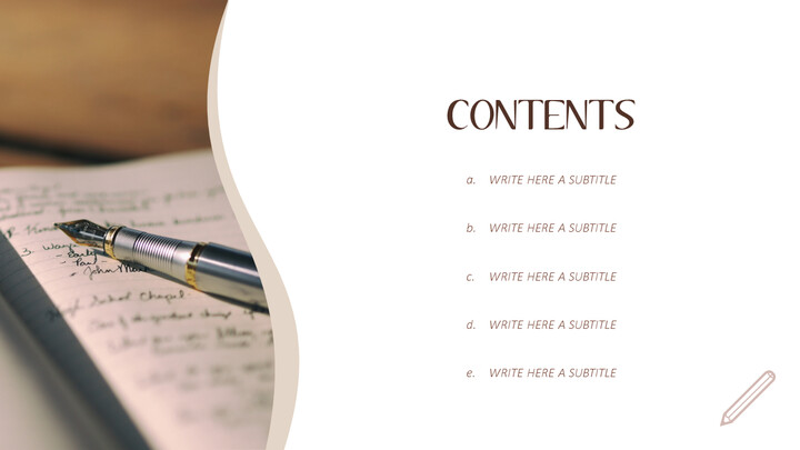 Diary Simple PowerPoint Templates_02