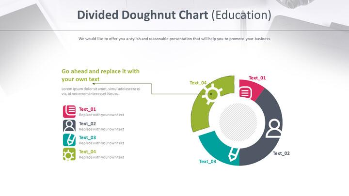 분할 된 도넛 형 차트 (교육)_01