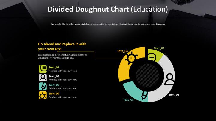 분할 된 도넛 형 차트 (교육)_02
