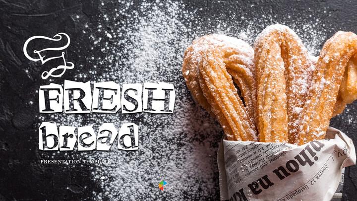 신선한 빵 파워포인트 템플릿_01