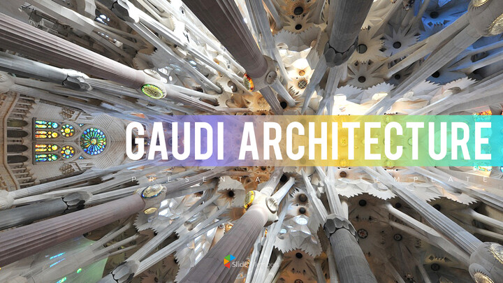 Gaudi Architecture Easy PPT Template_01