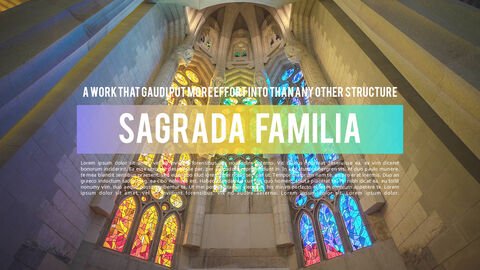 Gaudi Architecture Easy PPT Template_03