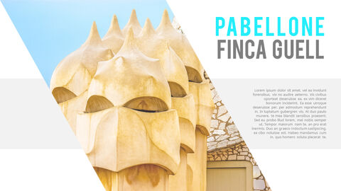 Gaudi Architecture Easy PPT Template_04