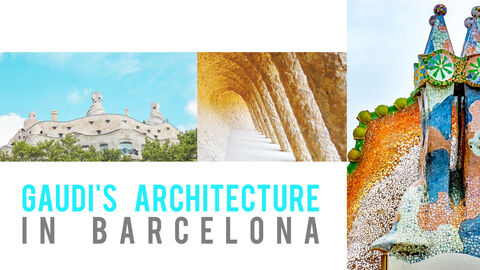Gaudi Architecture Easy PPT Template_05